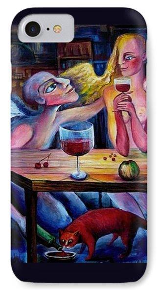 Love And Friendship Phone Case by Elisheva Nesis