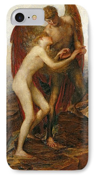 Love And Life IPhone Case by George Frederick Watts