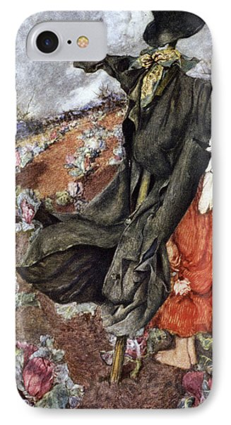 Love And The Scarecrow Phone Case by Eleanor Fortescue Brickdale