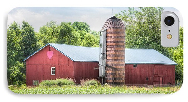 IPhone Case featuring the photograph Love Barn by Gary Heller