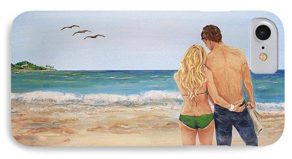 Love Birds Phone Case by Nancy Chenet