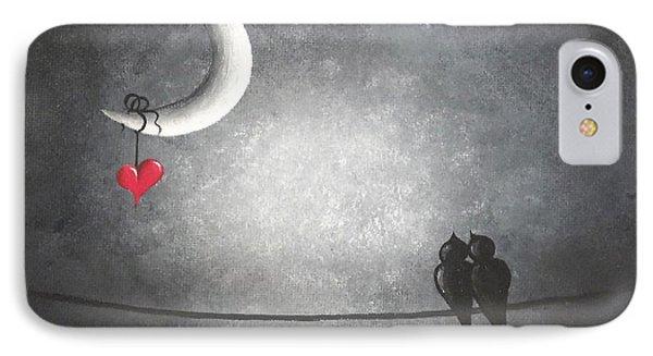 Love Birds Phone Case by Oddball Art Co by Lizzy Love
