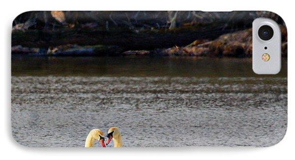 Love Birds IPhone Case by Richard Engelbrecht