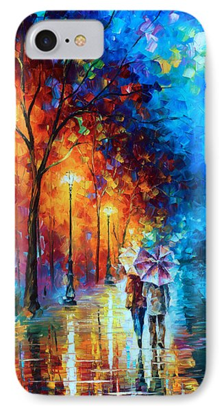 Love By The Lake Phone Case by Leonid Afremov