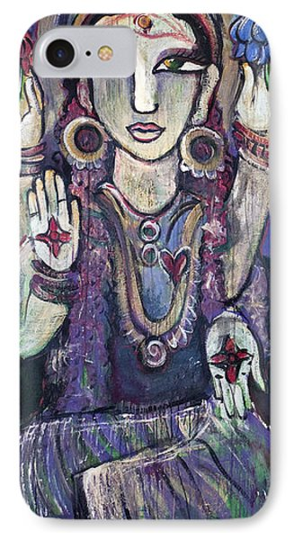 Love For Parvati Phone Case by Laurie Maves ART