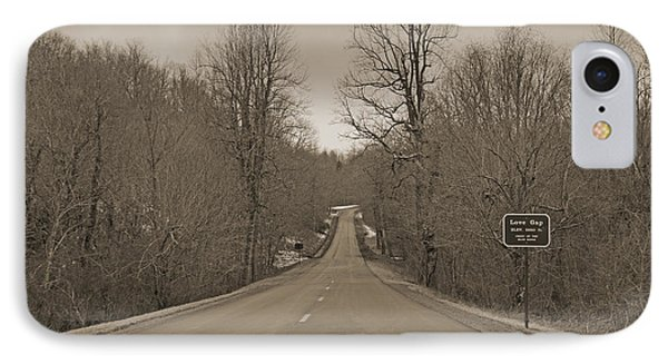Love Gap Blue Ridge Parkway IPhone Case by Betsy Knapp