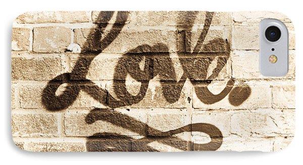 Love Graffiti IPhone Case