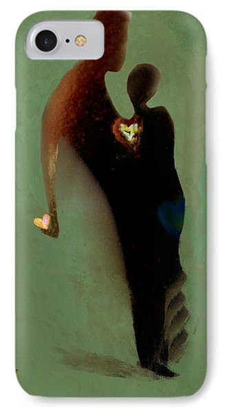 IPhone Case featuring the digital art Love by Haleh Mahbod