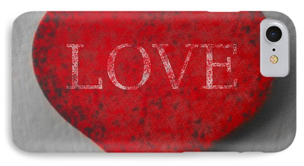 Love Heart 1 IPhone Case by Richard Reeve