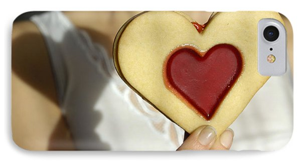 Love Heart Valentine Phone Case by Matthias Hauser