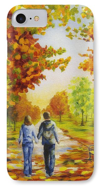 Love In Autumn Phone Case by Veikko Suikkanen