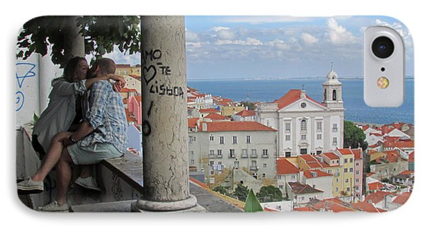 Love In Lisbon  IPhone Case by Robert Gerdes
