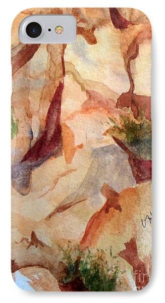 Love In The Rocks Medjugorje 2 IPhone Case by Vicki  Housel