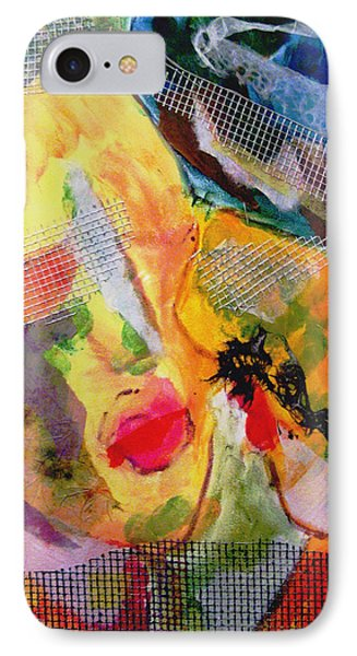 IPhone Case featuring the painting Love Is Blind by Alexandra Jordankova