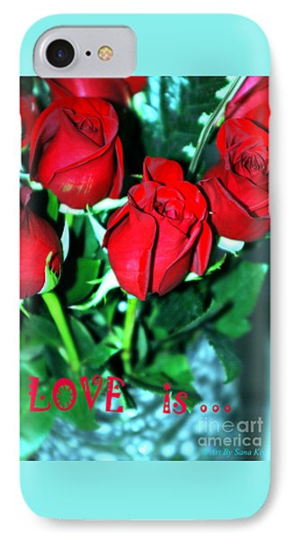 Love Is... Collection. Delightful IPhone Case