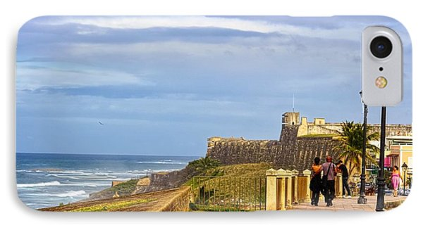 Love Is In The Air At Old San Juan Phone Case by Sandra Pena de Ortiz