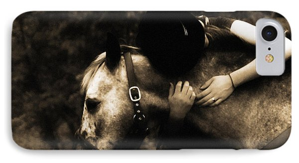 Love Like A Cowgirl Phone Case by Steven  Digman