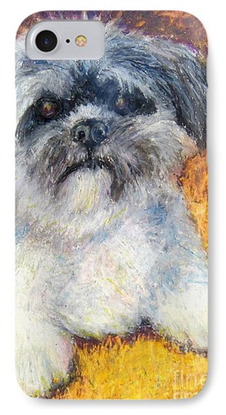 Love My Lhasa IPhone Case by Laurie Morgan
