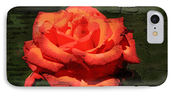 IPhone Case featuring the photograph Love N Rose by Mindy Bench