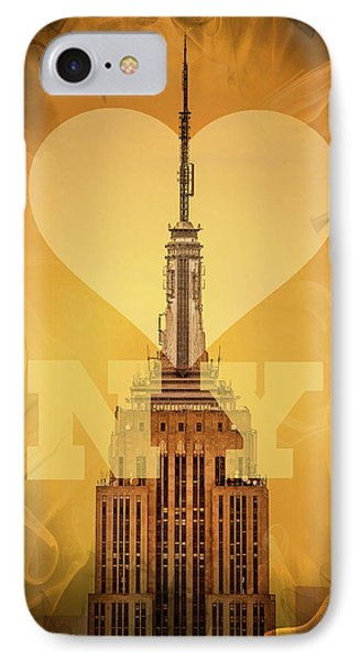 Love New York IPhone 7 Case by Az Jackson