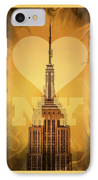 Love New York IPhone Case by Az Jackson