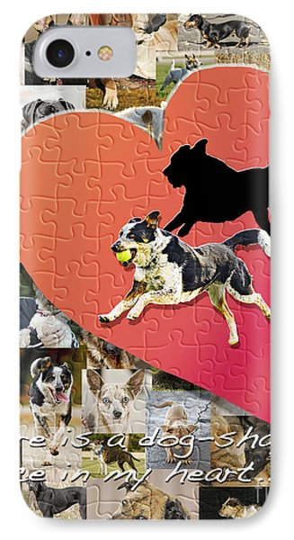 Love Of Dogs--general Version Phone Case by Judy Wood