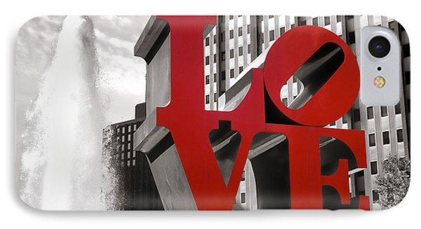 Love IPhone Case by Olivier Le Queinec