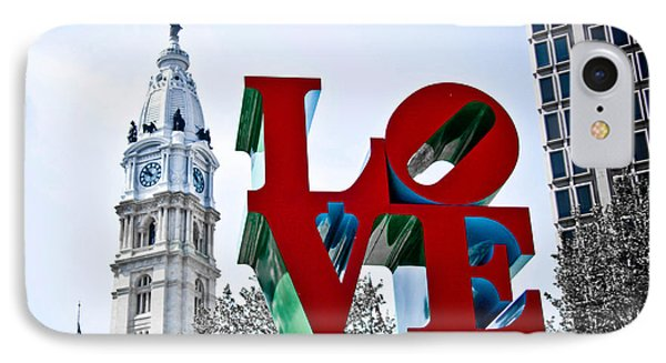 Love Park And City Hall IPhone Case