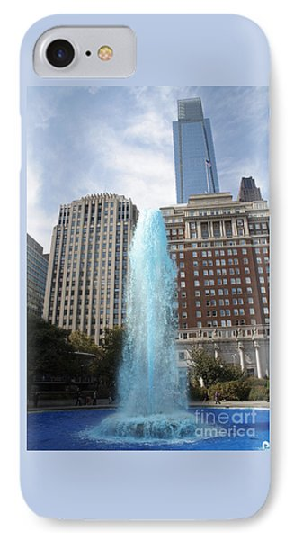 Love Park IPhone Case by Christopher Woods
