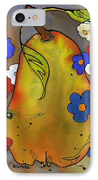 Love Pear  Phone Case by Blenda Studio