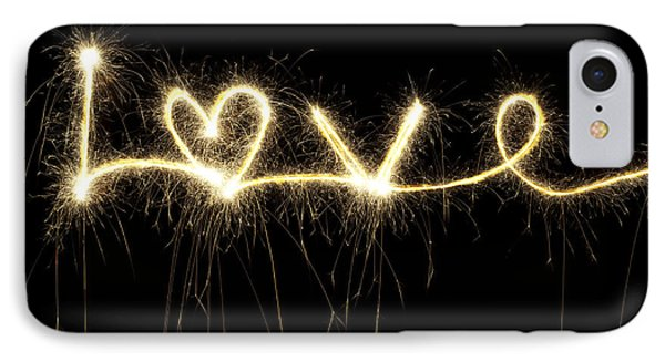 Love Shines Brightly IPhone Case
