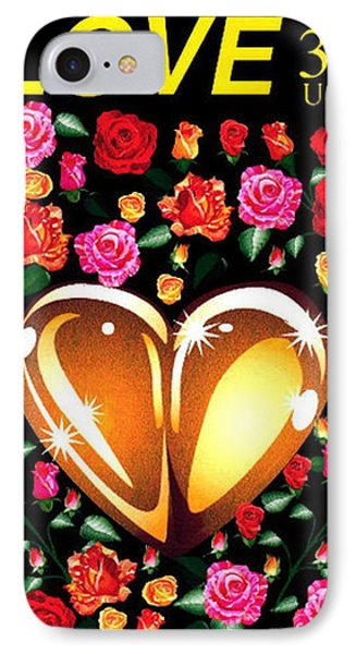 Love Stamp IPhone Case
