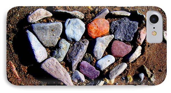 Love Stones IPhone Case by Janice Westerberg