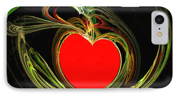 Love Sweeps Into My Heart IPhone Case