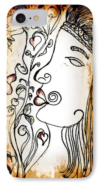 Love Tangled IPhone Case by Barbara Giordano