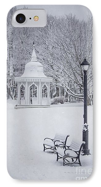 Love Through The Winter IPhone Case by Evelina Kremsdorf