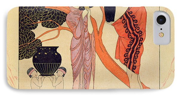 Love Token Phone Case by Georges Barbier