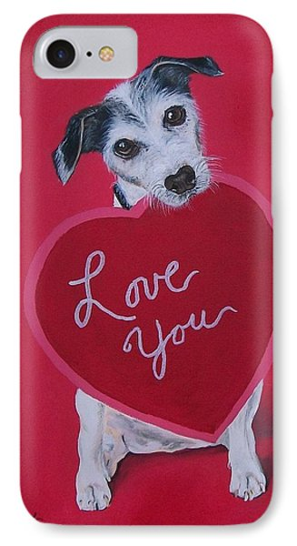Love You IPhone Case by Sharon Duguay