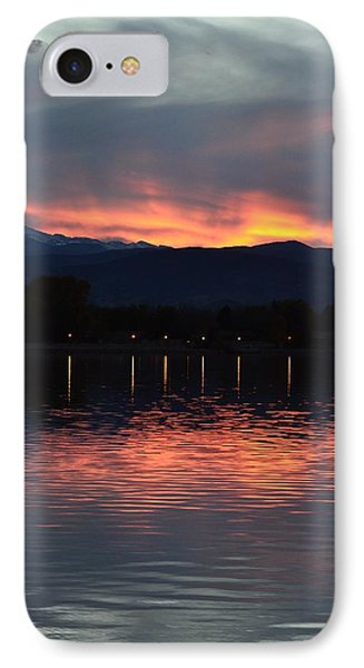 Loveland City Sunset IPhone Case