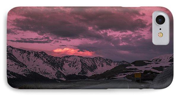 Loveland Pass Sunset IPhone Case by Michael J Bauer