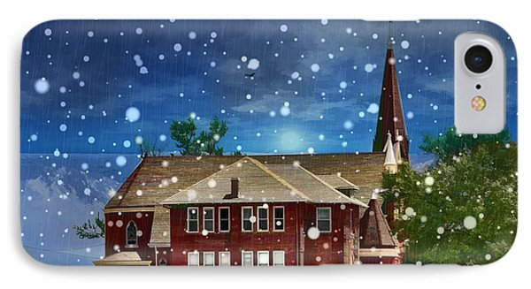 Lovely Country Church IPhone Case by Liane Wright