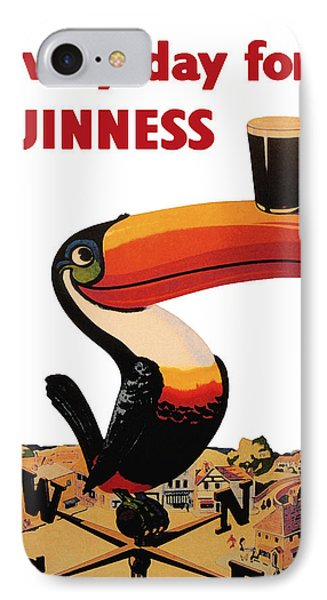 Lovely Day For A Guinness IPhone 7 Case by Georgia Fowler