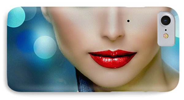 IPhone Case featuring the digital art Lovely Lady 2 by Karen Showell