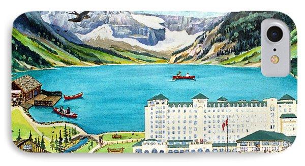 Lovely Lake Louise Phone Case by Virginia Ann Hemingson