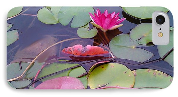 IPhone Case featuring the photograph Lovely Lotus by Diana Riukas
