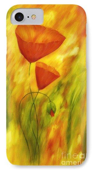 Lovely Poppies IPhone Case by Veikko Suikkanen