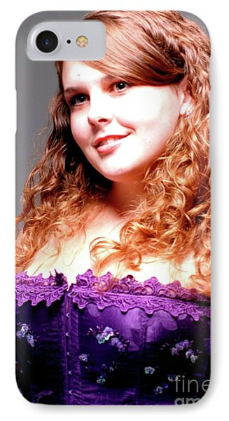 Lovely Rachel Phone Case by Kathleen Struckle