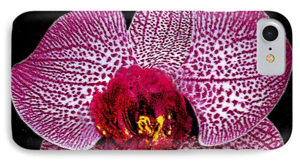IPhone Case featuring the photograph Lovely Red Spotted Orchid by Merton Allen