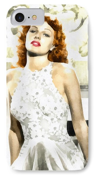 Lovely Rita IPhone Case by Mo T