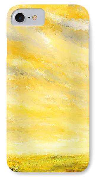 Lovely Sunny Day  IPhone Case by Lourry Legarde